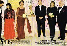 Coupure de Presse Clipping 1998 (8 pages) Caroline de Monaco Bal de la Rose