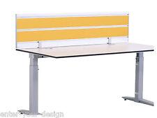 4003 KÖNIG+NEURATH - Trennwand Sichtschutz Tischtrennwand Schreibtischaufsatz