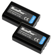 2-Pack BATTERIES for NIKON EN-EL1 ENEL1 COOLPIX 4300 4500 4800 E880 995 BATTERY