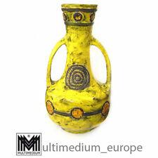 sehr große Keramik Vase Entwurf Walter Gerhards Design 50er 60er Jahre Bodenvase