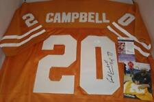 Earl Campbell signed Texas Longhorns jersey - JSA Authentic - '77 Heisman Winner
