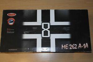 ADMIRAL TOYS 1:18 MESSERSCHMITT ME262A-1A  WHITE 8  WALTER NOWOTNY 1944