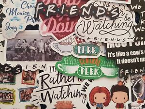 Friends Stickers 20/50 TV Show Joey Central Perk Decal Scrapbook Cardmaking