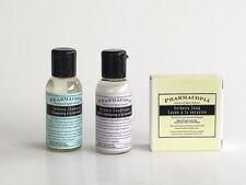 Pharmacopia Mini Hotel Amenity  3 Piece Set, Shampoo, Conditioner & Soap Set