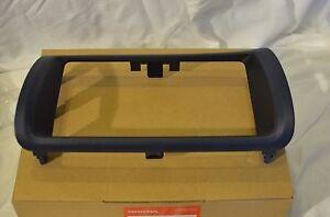 "Honda S2000 S2K OEM JDM Navigation Bezel Double Din Dash Genuine Black 7"" LCD"