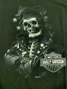 Harley-Davidson® Black Skull Joker Dealer T-Shirt (R003545)