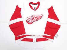 DETROIT RED WINGS AUTHENTIC AWAY TEAM ISSUED REEBOK EDGE 2.0 7287 JERSEY SIZE 58