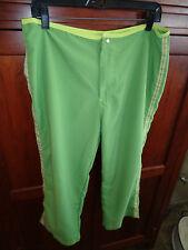 Women's Mooloolaba Surf Capri Shorts Pants L(12-14)  Good on Ya NWT Green