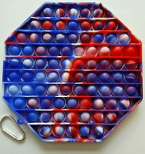 Jumbo Large Pop Its Bubble Fidget Toy Push Bubble Stress Relief Kids Autism Otgn