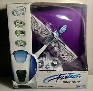 ⭕️ WOWWEE FLYTECH ROBOTIC DRAGONFLY 27MHZ REMOTE CONTROL INSECT NIB 2007 Sealed
