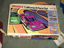 Vintage 1969 Hot Wheels Sizzlers California/8 Race Set ~ with Original Box