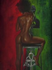 AFRICAN AMERICAN ART- The Blackness KEVIN WILLIAMS-WAK 24x36