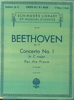 Beethoven - Concerto No. 1 in C major - Piano