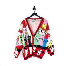 Casino Cardigan Knit Sweater Vintage Gambling Slots 80s Womens No! Jeans