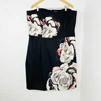 City Chic Strapless Dress Plus Size Large Women's 20 Fully Lined