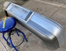 HOLDEN STATESMAN CAPRICE VR VS REAR BUMPER BAR COVER PANEL SILVER ICE H069