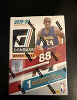 2019-20 PANINI DONRUSS BASKETBALL FACTORY SEALED BLASTER BOX ZION ROOKIE AUTO??