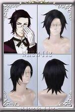 Black Butler Kuroshitsuji 2 Claude Faustu cosplay wig short Wigs