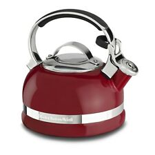 KitchenAid 2-Quart Stovetop Tea Kettle with Stainless Steel Handle - Empire Red