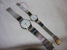 Geneva Quartz Watch (Japan Movt) - Stainless Steel - Excellent Collection