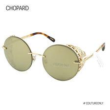 Chopard Women Sunglasses SCH-C68-300G 23K Rose Gold Metal Round Limited Edition