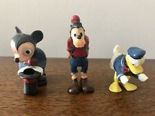 Vintage Disney Micky, Donald Duck And Pluto Figures Cake Toppers
