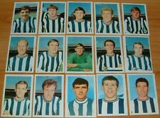 FKS AGEDUCATIFS PANINI FOOTBALL ENGLAND 1968-1969 NEWCASTLE MAGPIES COMPLETE