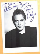 Tony Danza-signed photo-29 abcd - coa