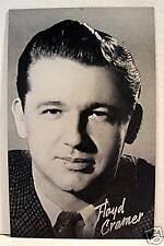 Floyd Cramer Rock N Roll Billboard Music Vending Card