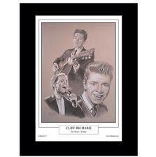 Cliff Richard Limited Edition Fine Art Print By Patrick J. Killian