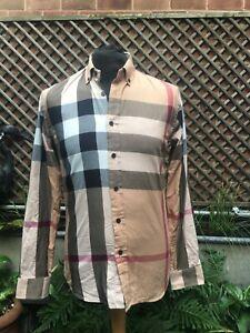 Burberry BRIT men's designer shirt size medium