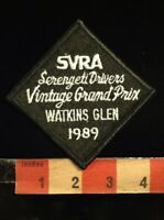 1989 SVRA SERENGETI DRIVERS VINTAGE GRAND PRIX WATKINS GLEN RACING Patch 00YB
