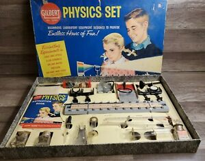 VINTAGE 1960 A C GILBERT PHYSICS SET NO. 15180