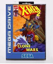 Juego Sega Mega Drive X-MEN 2 Clone War PAL Marvel