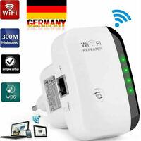 WLAN Repeater WLAN Verstärker WiFi Repeater Booster Signalverstärker 300Mbit/s