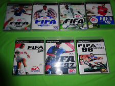 Empty Replacement Cases! FIFA Soccer Collection 96 97 98 99 00 01 02 PS1 PS2 PS3