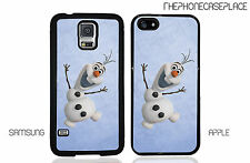 Disney's Frozen Olaf Snowman Phone Case for Apple iPhone or Samsung Galaxy