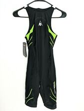 Aqua Sphere Mens 28 Energize Triathlon Ironman Speed Suit Black Neon Green