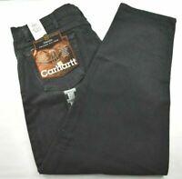 Carhartt New Men's B17 Black Relaxed Fit Tapered Leg 5 Pocket Denim Jeans