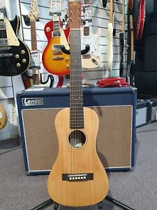 Essex TG1 Traveller Solid Spruce Top Acoustic Guitar with Gig Bag - R.R.P $369