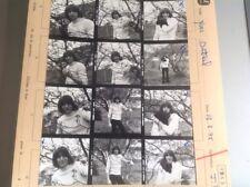 YVES DUTEIL : PLANCHE CONTACT  DE 1963 (12 Photos)