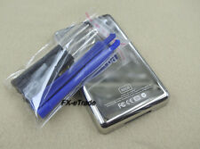 80GB Chrome Metal Back Rear Case Housing Cover Shell for iPod 5th Gen Video