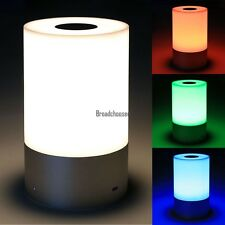 LED Tischlampe Nachtlicht Dimmbar Nachttischlampe Lampe Farbwechsel Beleuchtung