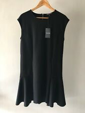 Country Road Sz S M L XL CR Love Tiered Shift Dress Black 10 12 14 16 L