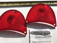 NEW REPLACEMENT 1957 CHEVROLET BEL AIR / 150 AND 210 TAIL LIGHT LENS !