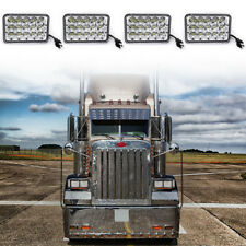 4x6 Freightliner Classic Projector led headlight sealed beam replace hologen HID
