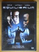 Equilibrium DVD audio italiano inglese fantascienza bale watson diggs wimmer