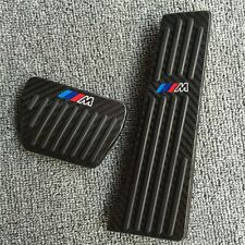 Carbon fiber No drill Fuel Brake Pedal Cover For BMW 3 5 Series E90 F10 X5 E70