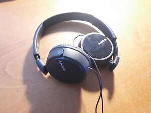 CUFFIE OVER EAR Sony MDR-ZX110 nere