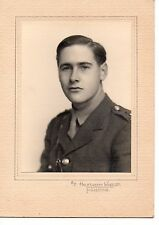 """2nd Lieutenant Photograph"" by Halksworth Wheeler,Folkestone"